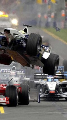 #F1 - loss of control at high speed. That should be air born, not loss of control.