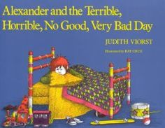Catalog - Alexander and the terrible, horrible, no good, very bad day.