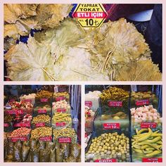 IstanbulEatsTour: Spice Mkt: salted grape leaves, pickled everything