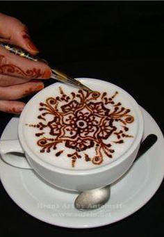 Henna Latte Art