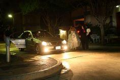 En camino a la boda