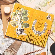 Kelly Hughes: whimsical art journaling