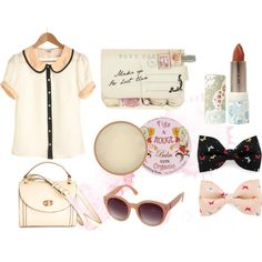 pastels, created by avenuemaria on Polyvore