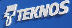 szyld dla firmy Teknos