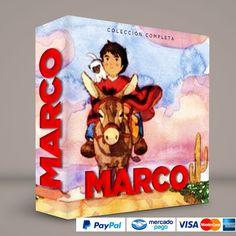 MARCO #ColeccionCompleta Español latino · DVD · BluRay · Calidad garantizada. #BoxSetDeLujo Presentación exclusiva de RetroReto. Pedidos: 0414.402.7582