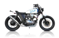 W650 FLAT TRACKER BY DEUS EX MACHINA