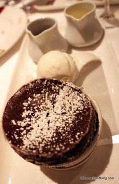 Disney Dream Palo: Chocolate Souffle recipe