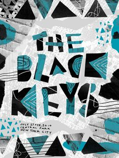 The Black Keys -- awesome poster and awesome musicians