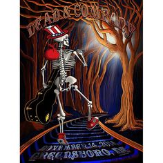 Dead & Company Greensboro Artist Edition Show Poster – Little Hippie Grateful Dead Wallpaper, Grateful Dead Poster, Rock Posters, Concert Posters, Music Posters, Funny Paintings, Dead And Company, Psychedelic Rock, Punk