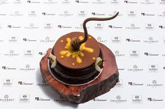 World Chocolate Master Finalist 2013, Marike Van Buerden, gives you her exquisite recipe: The B-Hive. bit.ly/1u6wnKo