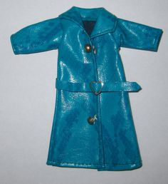 Rare Turquoise Vinyl Coat Fits Dawn #Dawn