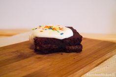 Brownies mit Honigwaffeln. Ein tolles Rezept aus der Mutti kocht am besten