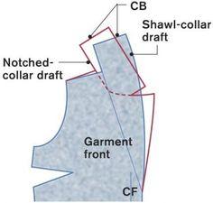 Notch collar pattern