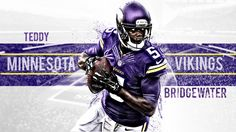 Minnesota Vikings quarterback 2014 | minnesota_vikings__teddy_bridgewater_qb___5_by_swin92-d7vl0h6.png