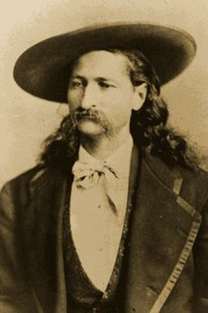 Wild Bill (James Butler) Hickok, as gunman of the Old West