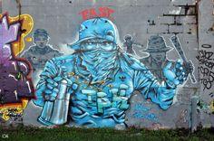 Graff région Parisienne  By Alain Chantelat