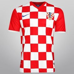 Camisa Nike Seleção Croácia Home 2014 Netshoes f6abddb777d17