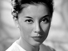 France Nuyen, best known for her portrayal of Liat in South Pacific. France Nuyen, Beautiful Men, Beautiful People, Moving To Hawaii, French Actress, Old Hollywood Glamour, South Pacific, Black And White Pictures, Vintage Beauty