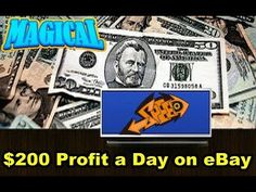 How to make $200 Profit a Day on eBay