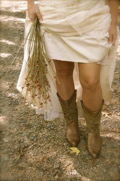Wedding boots :)