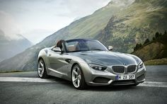 BMW Zagato Roadster - you have seen the coupe, now meet the drop-top version. it's just a plain beauty.