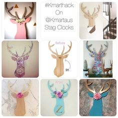 Here are the s that I have shared so far that have had a wonderful to them. Deer Head Decor, Kmart Home, Kmart Decor, Shelf Inspiration, Bedroom Hacks, Diy Projects To Try, Diy Art, Fun Crafts, Place Card Holders