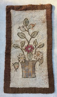 Antique Hand Hooked Rug - Yourgreatfinds, Vintage Jewelry - 1