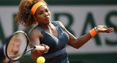 Serena Williams Easily Dismisses Sara Errani in the Roland Garros Semifinal. Serena will face Maria Sharapova in the French Open final. Serena Williams Tennis, Venus And Serena Williams, Wimbledon Tennis, Professional Tennis Players, Tennis Championships, The Championship, Rafael Nadal, Maria Sharapova, Roland Garros