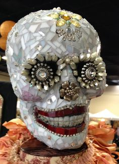 Day of the Dead Skull named Bozena-katherine England