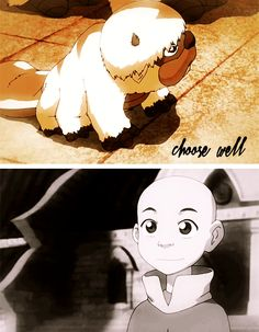 Baby Aang and Appa