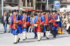 #miqueletscat Esquadra de Miquelets del Regiment de Joan Vilar i Ferrer.