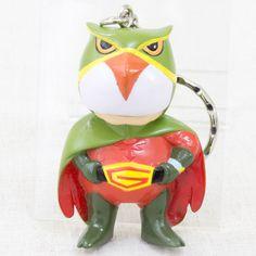 Kagaku Ninja Tai Gatchaman G-5 Mascot Figure Key Chain JAPAN ANIME MANGA