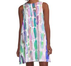 A-Line Dress | Fashion by Artist @anoellejay Starting at $50 @redbubble
