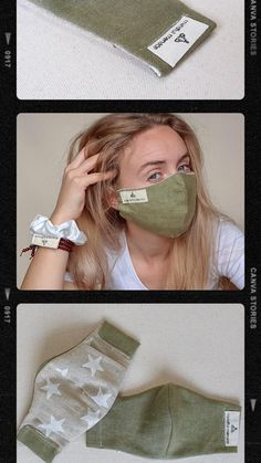 Face Masks, Back To School, Ireland, The 100, Fabric, Sleeves, Handmade, Collection, Tejido