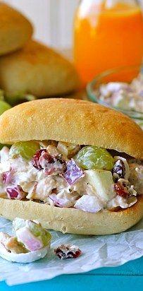 Greek Yogurt Chicken Salad Sandwich | 23 Boneless Chicken Breast Recipes That Are Actually Delicious