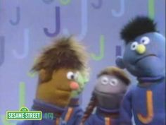 Sesame Street: J Friends Song, an alliteration with the letter J