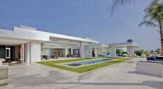 Magnifique rénovation d'une maison contemporaine à Beverly Hills, #construiretendance
