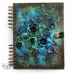 Hello, dear Friends! Today Id like to share with you two of my journal covers created for Black...