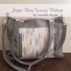 Jayne Bag PDF Sewing Pattern | Craftsy affiliate link