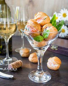 Профитроли со сливочным сыром и лососем: как приготовить - проверенный пошаговый рецепт с фото на Вкусном Блоге