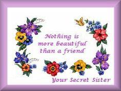 148 Best secret sister images in 2019 | Secret sister gifts ...