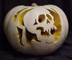 skeleton jack o lantern