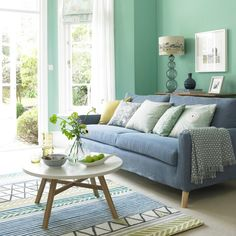 Looking for living room colour schemes? These are our pick of the best bright and bold living room colour schemes for every style Living Pequeños, Bold Living Room, Colourful Living Room, Living Room Sofa, Living Room Decor, Living Room Color Combination, Living Room Color Schemes, Living Room Colors, Living Room Designs