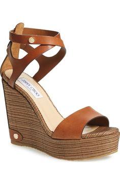 45013495a5397 Jimmy Choo  Noelle  Platform Wedge Sandal (Women)