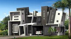 2868 Sq ft Back-Drop design residence from Marikkar Designs