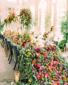Floral Wedding, Wedding Colors, Wedding Flowers, Wedding Flower Decorations, Wedding Centerpieces, Decor Wedding, Wedding Ideas, Eco Wedding Inspiration, Aynhoe Park