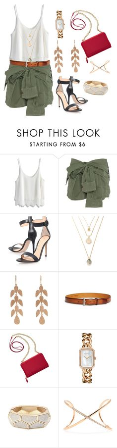 """""""Casual Boho Summer Outfit"""" by deloom ❤ liked on Polyvore featuring Chicwish, Faith Connexion, Gianvito Rossi, Irene Neuwirth, Magnanni, TravelSmith, Chanel and Roberto Marroni"""