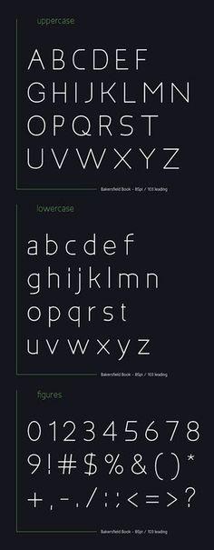 Bakersfield Font Letters #freefonts #fontsfordesignes #newfonts #freefonts2014