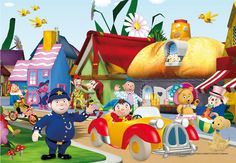 noddy and friends wallpapers - Google Search