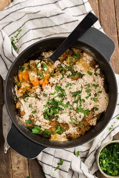 Sweet potatoes and celeriac make this a hearty, filling vegetable cassoulet. Ready in one hour with flavor that rivals the traditional dish!
